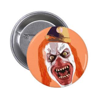 Macabre Clown Button