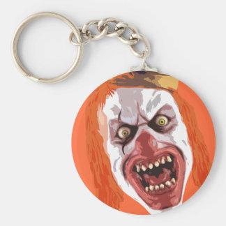 Macabre Clown Keychain