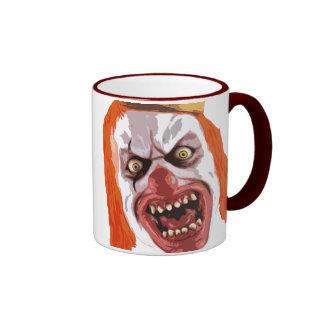 Macabre Clown Ringer Mug