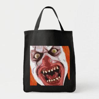 Macabre Clown Tote Bag