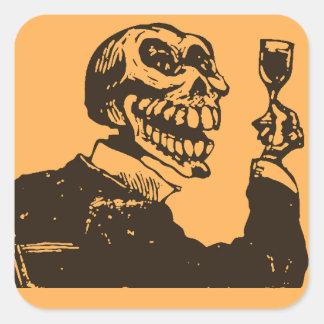 Macabre: Dia de los Muertos - A Toast Square Sticker