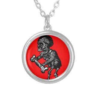 Macabre Dia de los Muertos Necklace