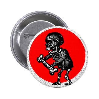 Macabre: Dia de los Muertos Pinback Button