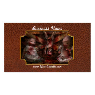 Macabre - Dolls - Having a friend for dinner Business Card