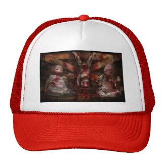 Macabre - Dolls - Having a friend for dinner Trucker Hat