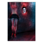 Macabre  Dungeon Greeting Card
