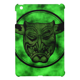 Macabre: Grinning Green Demon Cover For The iPad Mini