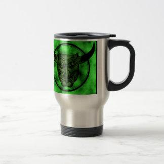 Macabre: Grinning Green Demon Coffee Mug