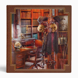 Macabre - In the Headhunters study 3 Ring Binder