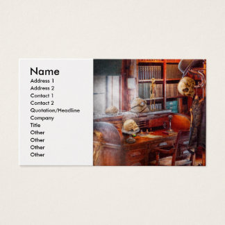 Macabre - In the Headhunters study Business Card