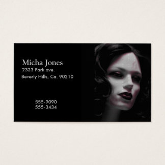 Macabre Lady Mannequin Business Card