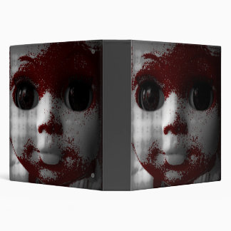 Macabre Living Dead Doll 3 Ring Binder