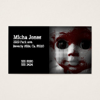 Macabre Living Dead Doll Business Card