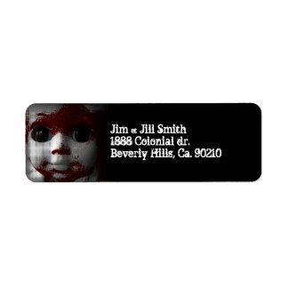 Macabre Living Dead Doll Label