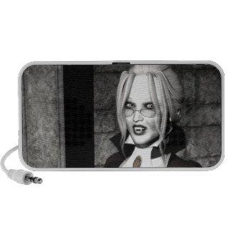 Macabre Mistress Gothic Speaker doodle