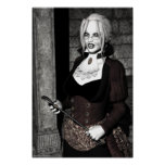 Macabre Mistress Gothic Vampire Posters