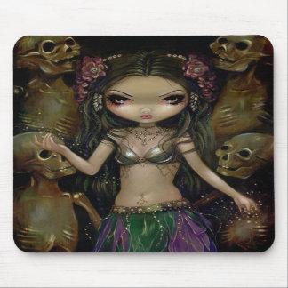 Macabro de Danse Fusión tribal Mousepad Tapete De Raton