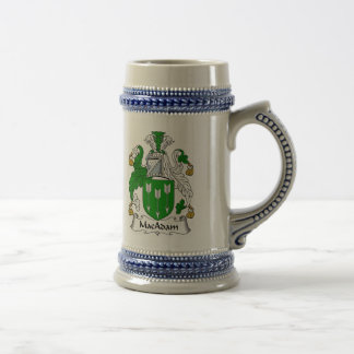 MacAdam Coat of Arms Stein - Family Crest