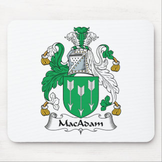 MacAdam Family Crest Mouse Pad