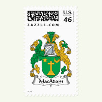 MacAdam Family Crest Stamps