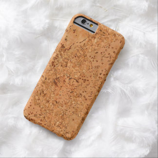 Macadamia Cork Burl Wood Grain Look Barely There iPhone 6 Case