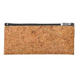 Macadamia Cork Burl Wood Grain Look Pencil Case