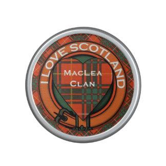 MacAlley clan Plaid Scottish kilt tartan Bluetooth Speaker