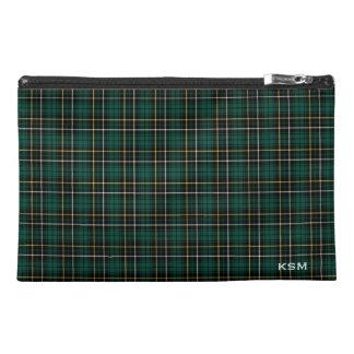 MacAlpine Clan Tartan Monogram Travel Accessory Bag