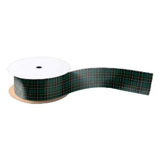 MacAlpine Clan Tartan Satin Ribbon