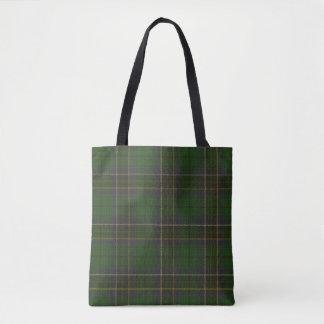 MacAlpine Clan Tartan Tote Bag