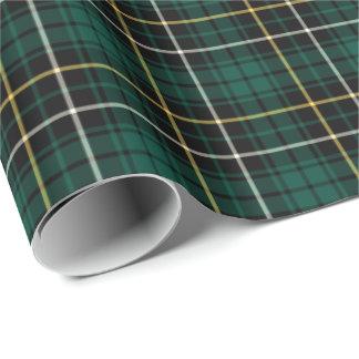 MacAlpine Clan Tartan Wrapping Paper