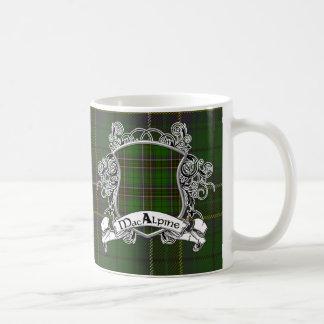 MacAlpine Tartan Shield Coffee Mug