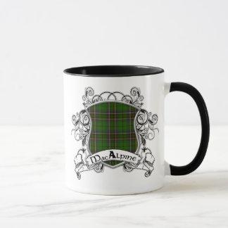 MacAlpine Tartan Shield Mug