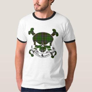 MacAlpine Tartan Skull T-Shirt