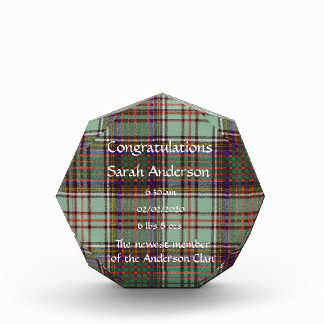 MacAndrew clan Plaid Scottish kilt tartan Award