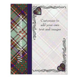 MacAndrew clan Plaid Scottish kilt tartan Flyer