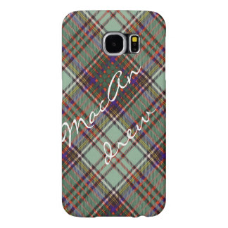 MacAndrew clan Plaid Scottish kilt tartan Samsung Galaxy S6 Case
