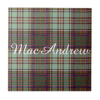 MacAndrew clan Plaid Scottish kilt tartan Tile
