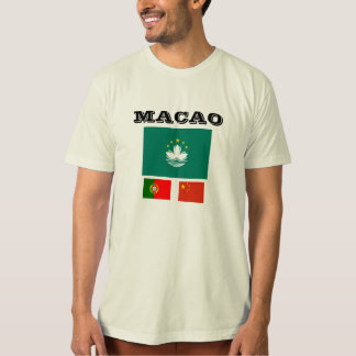 Macao* Flag T-shirt