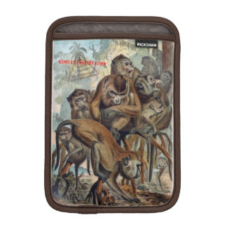 Macaques for Responsible Travel iPad Mini Sleeve