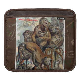 Macaques for Responsible Travel iPad Sleeve