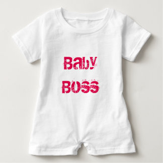 Macaquinho Baby boss Baby Romper