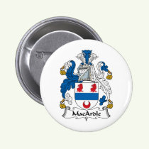 MacArdle Family Crest Button