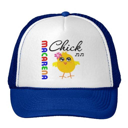 Macarena Chick Trucker Hat
