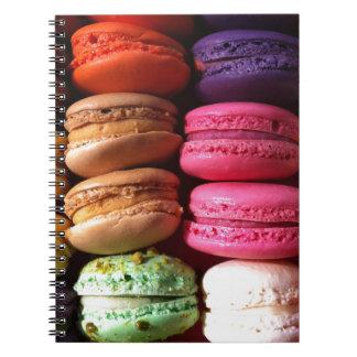 macaron cookies notebook
