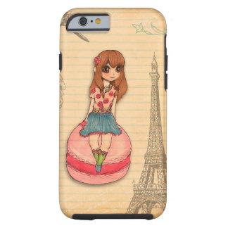 Macaron en París Funda De iPhone 6 Tough
