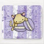 Macaron Kitty Mouse Pad