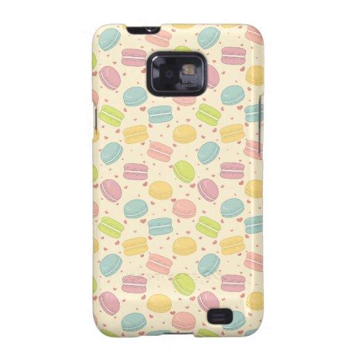 Macaron Love Galaxy SII Cases