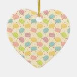 Macaron Love Ornaments