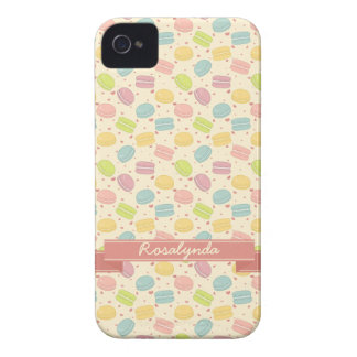 Macaron Love with Ribbon iPhone 4 Case